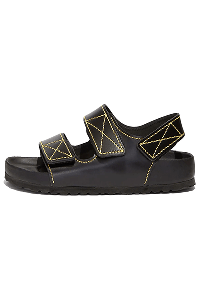 PS x Birkenstock Milano Sandal in Black
