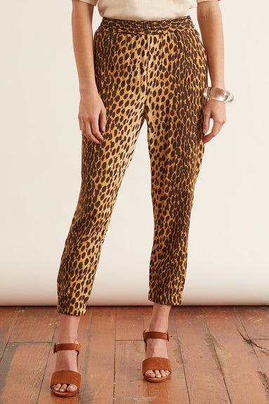 Harem Jogger in Cheetah
