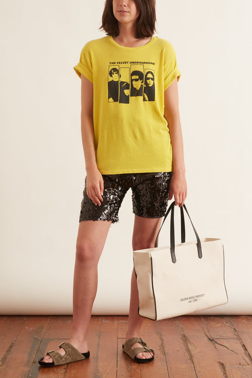 Velvet Underground Boy T in Yellow