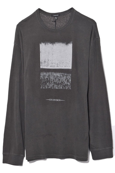 Atmosphere Long Sleeve Tee in Acid Black
