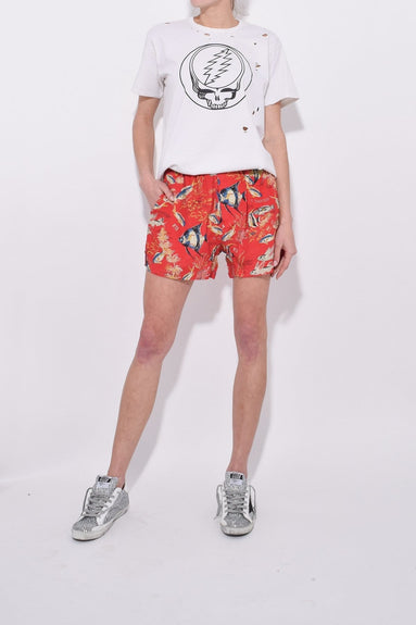 Boxer Short in Red Fish
