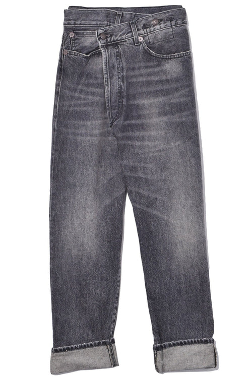 Cross Over Jean in Leyton Black