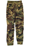 Harem Sweatpant in Camo