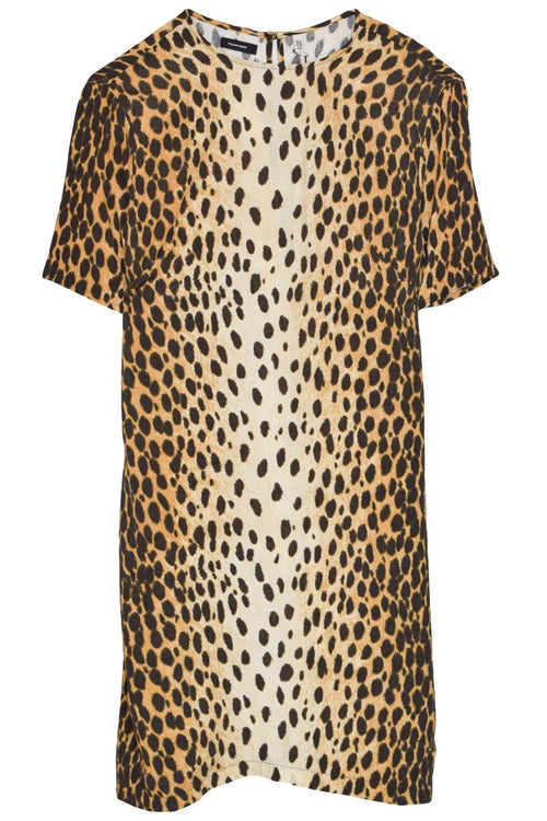 Shift Dress in Cheetah