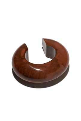 Arc Cuff in Chocolate