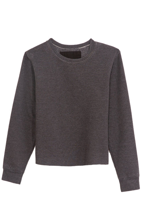 Adore Sweatshirt in Heather Charcoal