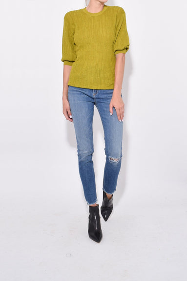 Benson Top in Pea