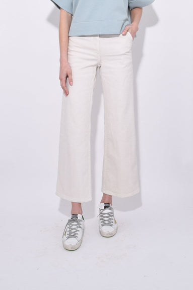 Clean Bishop Pant in Dirty White