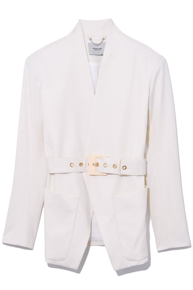 Clinch Jacket in Off White