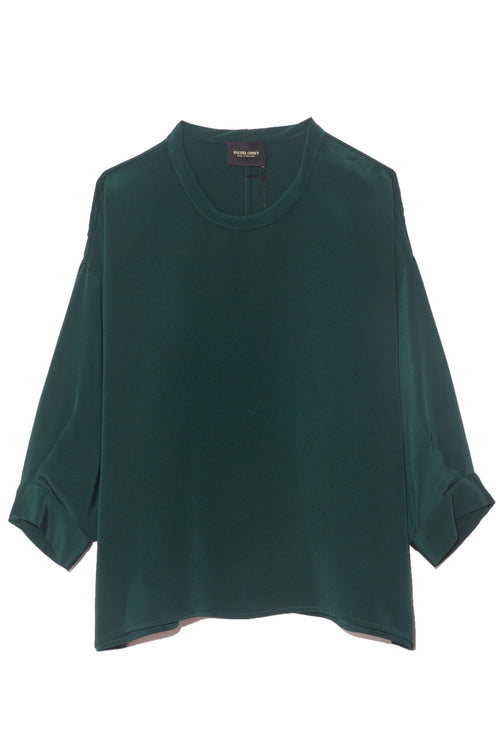 Fond Blouse in Forest Green