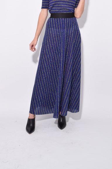 Portion Skirt in Blue