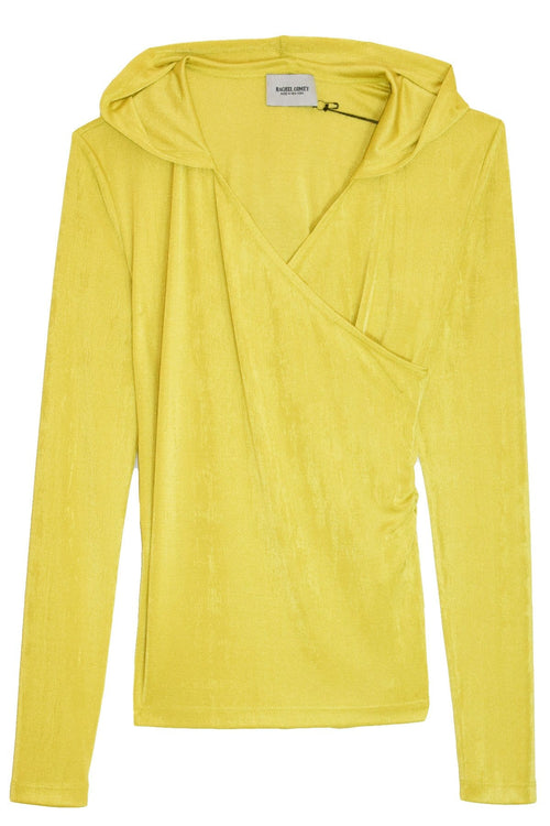 Sasona Top in Chartreuse