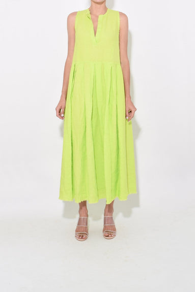 Sereno Dress in Lime