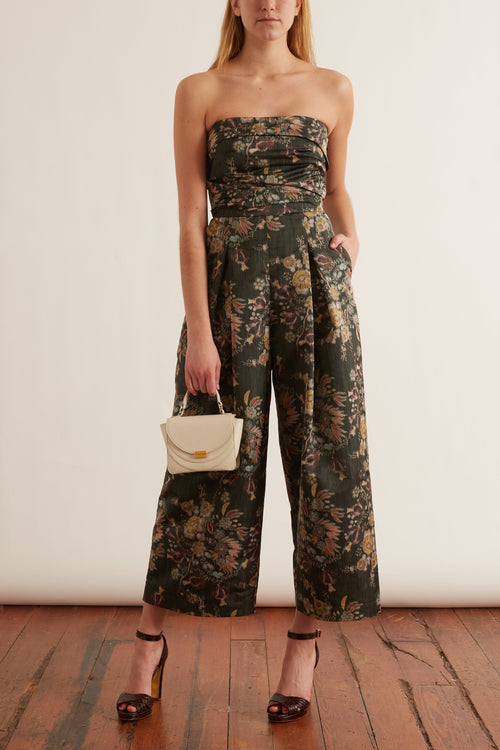 Tristan Jumpsuit in Black Multi