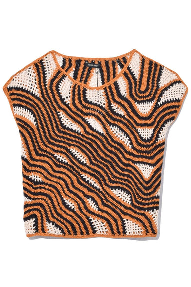 Urchin Top in Tiger Multi