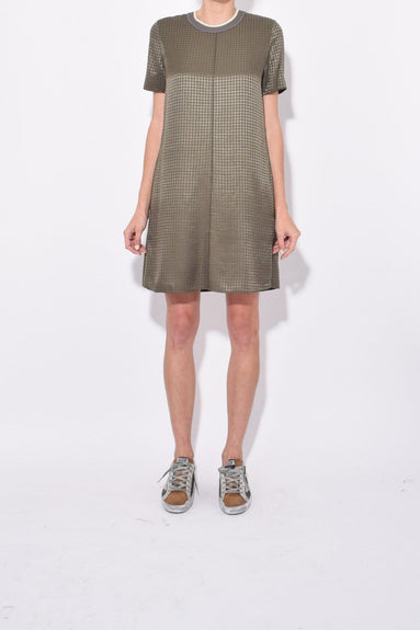 Ali T-Shirt Dress in Olive