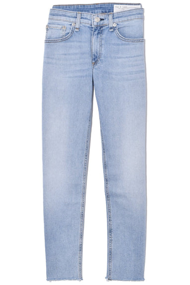 Dre Low Rise Ankle Slim Boyfriend Jean in Albion