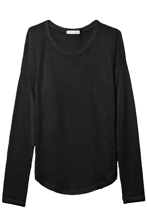 The Hudson Long Sleeve in Black