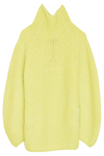Joseph Turtleneck in Lime Green