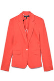 Lucy Blazer in Fire Red