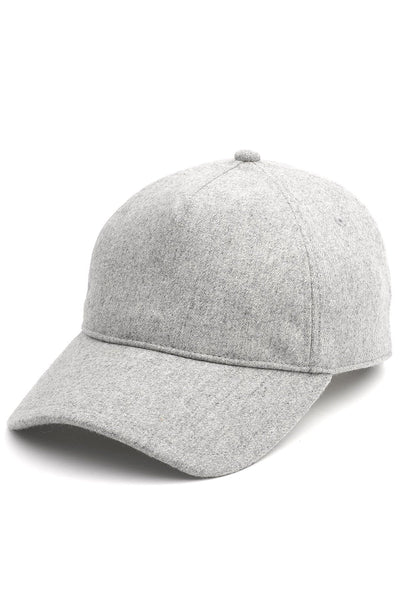 Marilyn Baseball Cap in Light Heather Grey