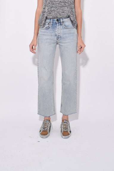 Maya High Rise Ankle Straight Jean in Olson