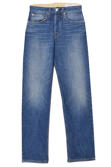 Maya High Rise Ankle Straight Jean in Rocco