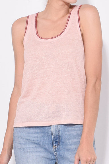 Molly Tank in Dusty Rose