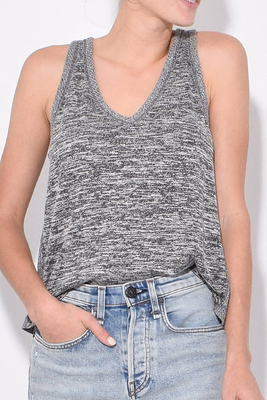 Ramona Tank in Black/White