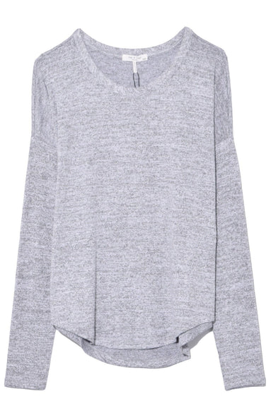 The Hudson Long Sleeve in Light Grey