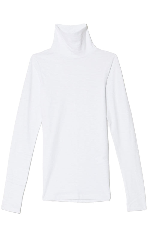 The Turtleneck in Bright White