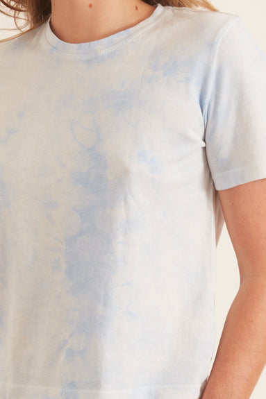 Boy Tee in Cloud Wash Blue