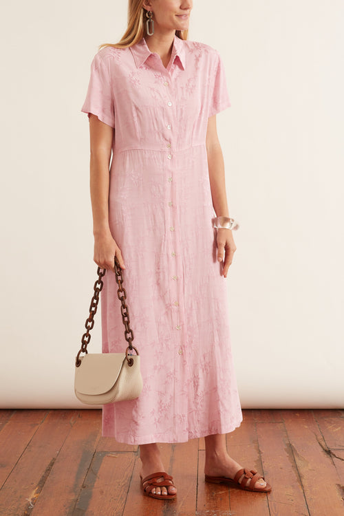 Carina Dress in Pink