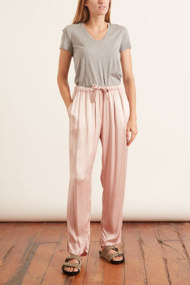 Drawstring Trouser in Rose