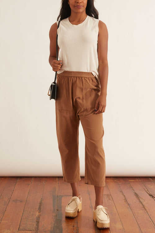 Sunday Pant in Camel