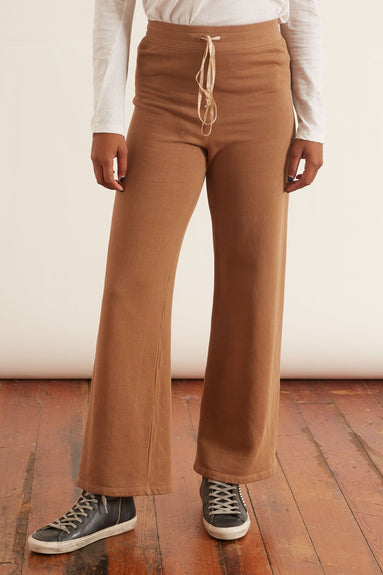 Wide Tracker Pant in Camel