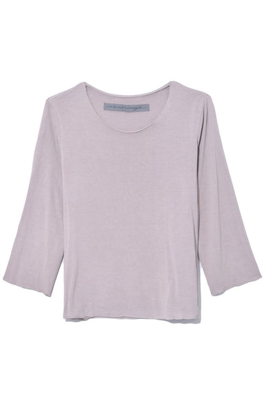 3/4 Sleeve Top in Silver