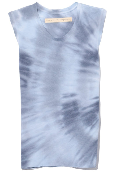 Fitted Muscle Tee in Lunar Tie Dye