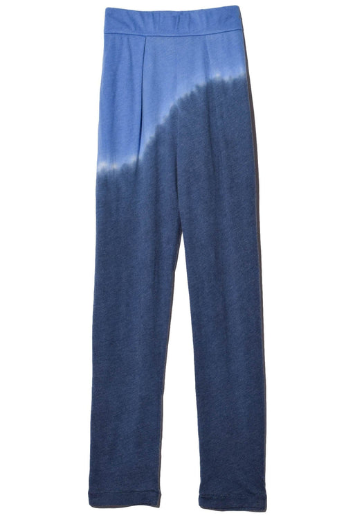 Signature Jersey Easy Pant in Sky Tie Dye