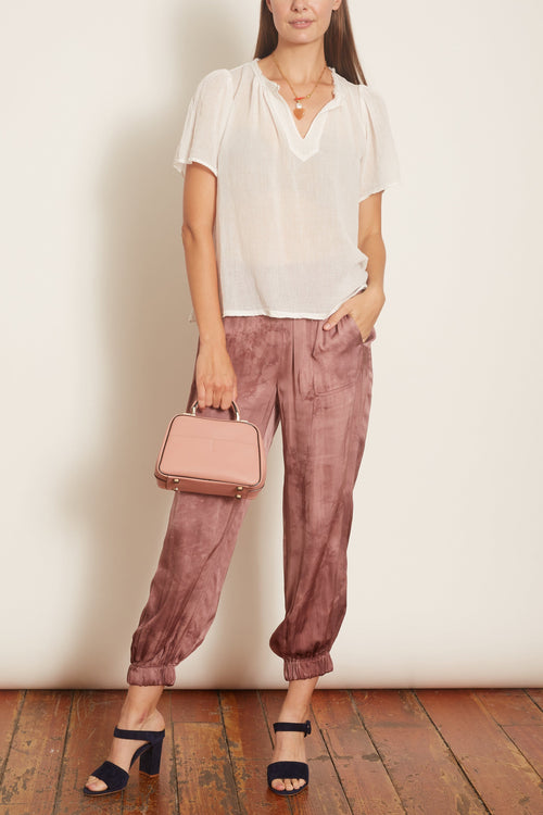 Balloon Pant in Blush Tie Dye