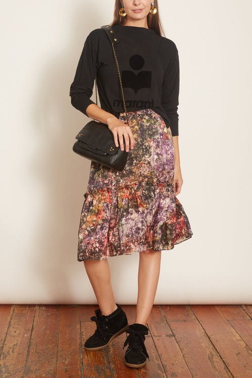 Romance Skirt in Plum