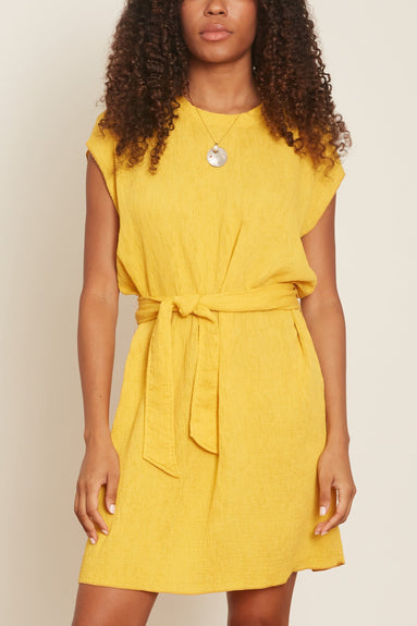 Vija Dress in Golden Yellow