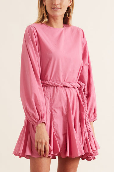Ella Dress in Prism Pink