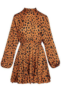 Caroline Dress in Cheetah