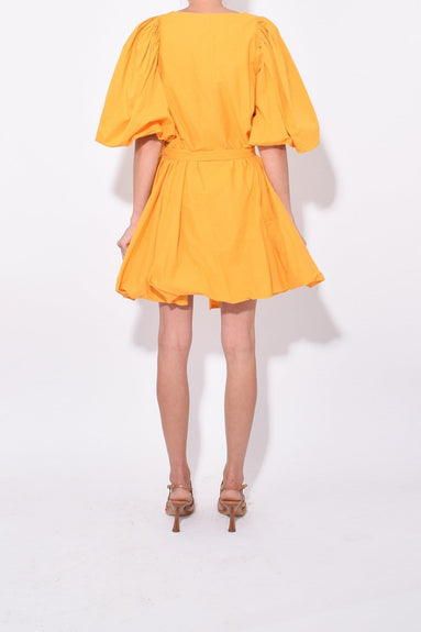 Marni Dress in Bright Saffron