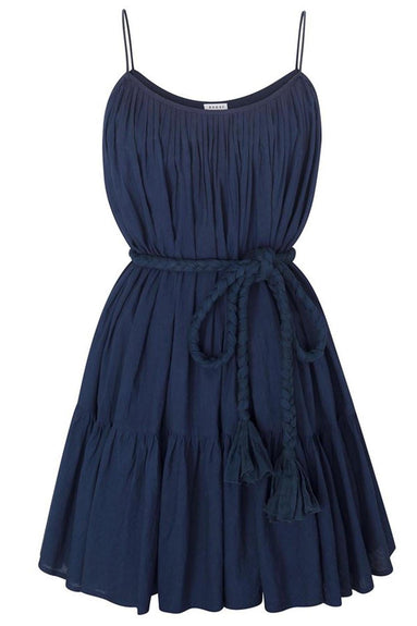Nala Dress in Navy