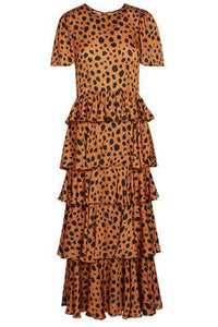 Serena Dress in Cheetah
