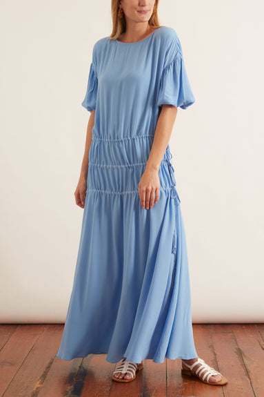 Amane Dress in Cloud Blue
