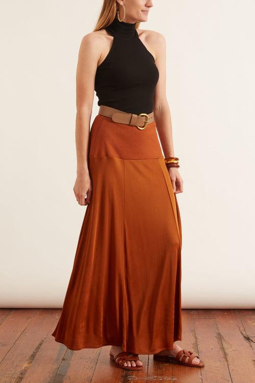 Najia Skirt in Cinnamon