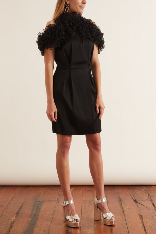 Raven Dress in Black